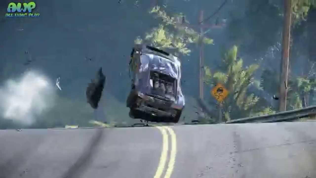 Audi R8 V10 Plus Crazy Epic Insane Crash Project