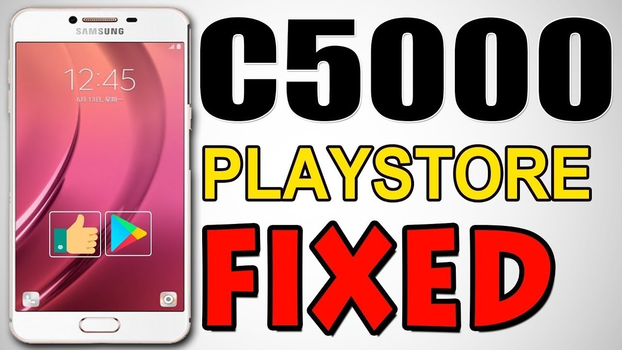 SAMSUNG C5000 Play Store Fixed DONE By GSM Forum