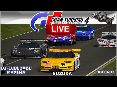 CALSONIC GTR R32 na ENDURANCE em SUZUKA - Gran Turismo 4  AO VIVO thumbnail