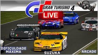 CALSONIC GTR R32 na ENDURANCE em SUZUKA - Gran Turismo 4  AO VIVO