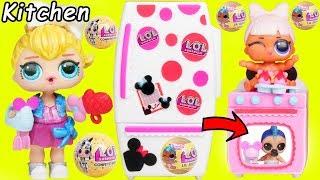 JOJO SIWA LOL Surprise Dolls New Shopkins Minnie Mouse Kitchen + Toys R Us Punk Boi Sisters Wedding