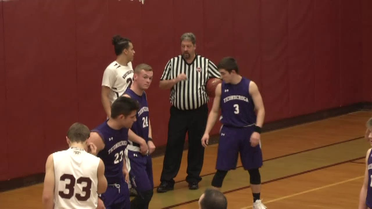 NCCS - Ticonderoga Boys  1-30-18