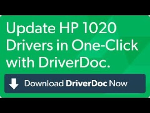 HP Laserjet 1020 printer driver for Windows 7