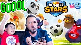 HAYVANLARLA FUTBOL OYNAMAK MI?! | RUMBLE STARS SOCCER MOBİL OYUN