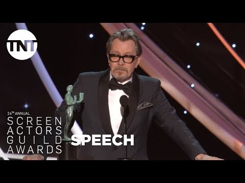 Gary Oldman: Acceptance Speech | 24th Annual SAG Awards | TNT