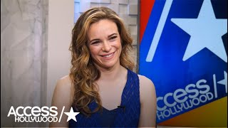 Spoiler Alert! 'The Flash's' Danielle Panabaker Talks That Savitar Unmasking! | Access Hollywood