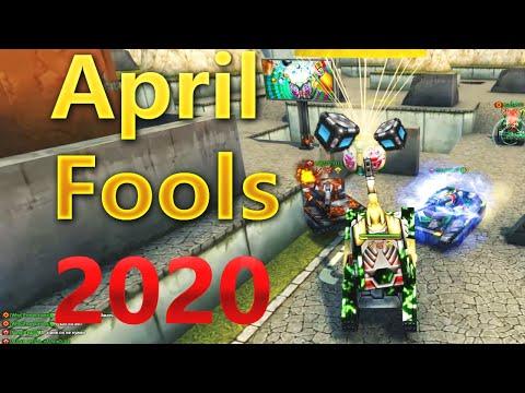 Tanki Online - April Fools Days 2020 Gold Box Montage #28 [EPIC!!]