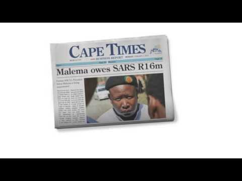 CAPE TIMES SELFIES CAMAPIGN, MALEMA - LOWE CAPE TOWN
