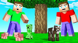MINECRAFT But The MOBS Are TINY!