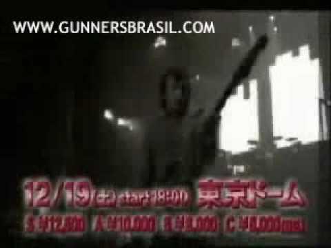 Guns N' Roses Promo Asia Tour 2009