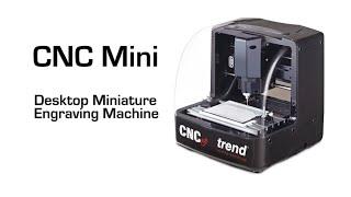 Trend Cnc Mini Desktop Minature Engraving Machine - Demonstration