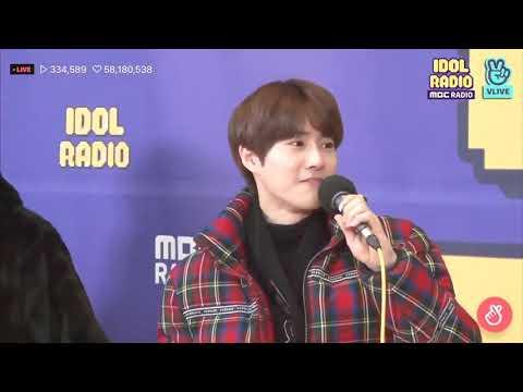 Suho X Chen Sing Love Shot on Idol Radio