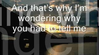 Howie Day - She Says [With Lyrics]