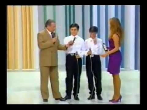 Luiz e Luizinho - Quem Sou Eu sem Ela - Programa Raul Gil 1992