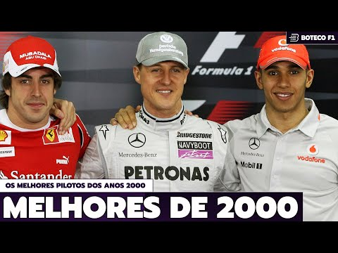 Os 10 MELHORES PILOTOS da FÓRMULA 1™ (Anos 2000)   BOTECO F1 DEBATE #01