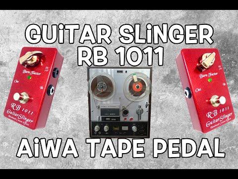 Guitarslinger RB1011 Blackmore Aiwa Tape Drive Pedal (Sound Like Ritchie Blackmore)
