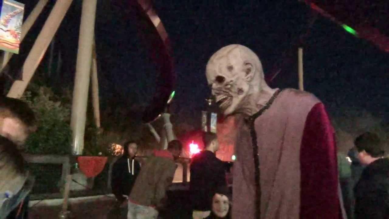 halloween haunt open times | hallowen