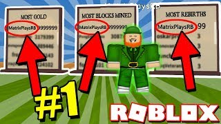 This Glitch Got Me #1 on the Leaderboards! *YOU CAN TO!* (Roblox Leprechaun Simulator)