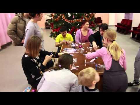 """Акция """"Рождественская коробочка"""". Детский дом в г.Карабаново. 2014 год."""