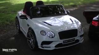 Big Toys Bentley SuperSports GT ride on car for toddlers