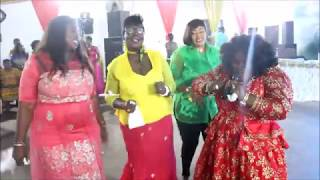 Wow! Nhyira Betty And Husband Salsa Dance Moves  At Her Album Launch