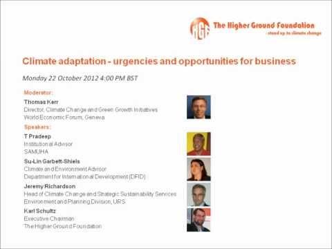 Higher Ground Foundation Webinar   October 2012