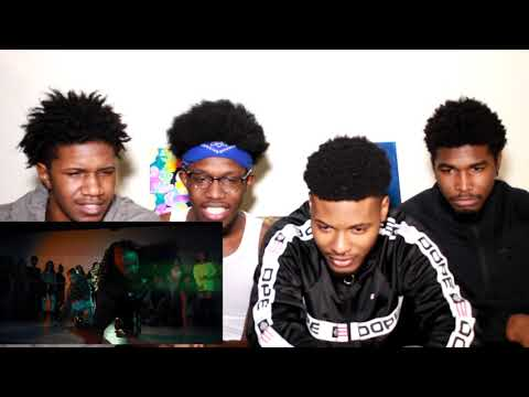 Aliya Janell - Grind With Me  Extended Groups  Choreography REACTION