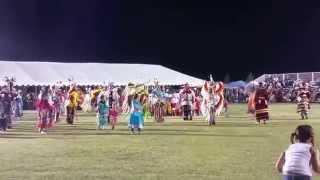 Barona Powwow 2015 Snake and Buffalo Dance & Trot