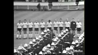 Copa mundial futbol final Inglaterra vs Alemania del Oeste 1966