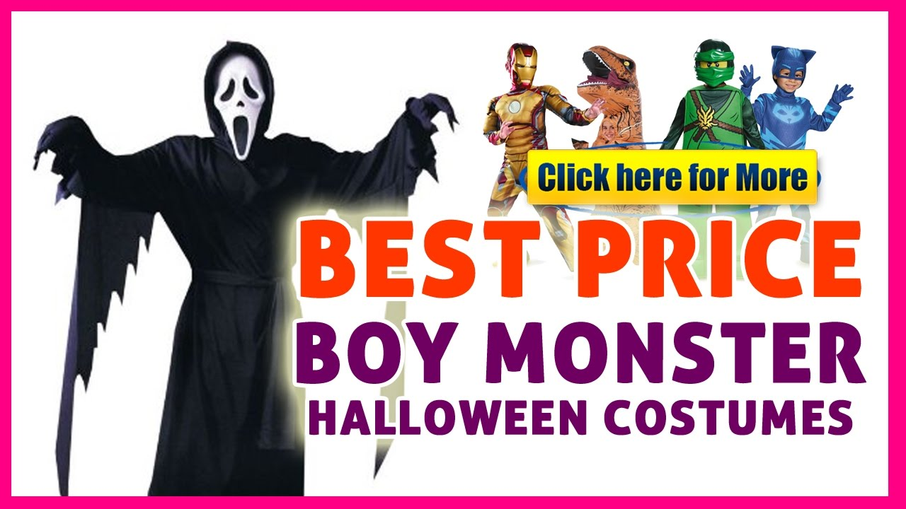 boy scary halloween costumes - boy costumes on sale! - youtube