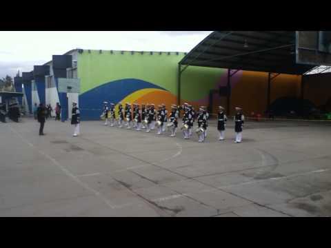 Banda de Guerra CBTIS #128 - Marcha Metalica