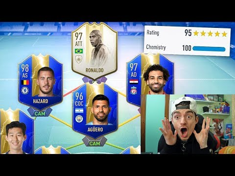 IL MIO NUOVO RECORD !!! 194 RATED FUT DRAFT CHALLENGE - FIFA 19 ULTIMATE TEAM ITA