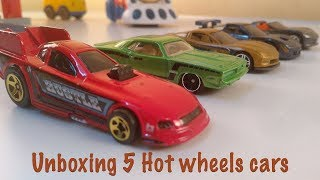 Unboxin 5 Hot wheels cars - EP 10