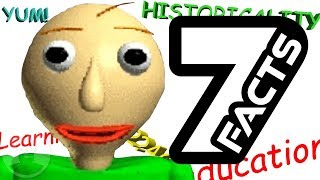 7 Baldis Basics Facts YOU Should Know! | The Leaderboard
