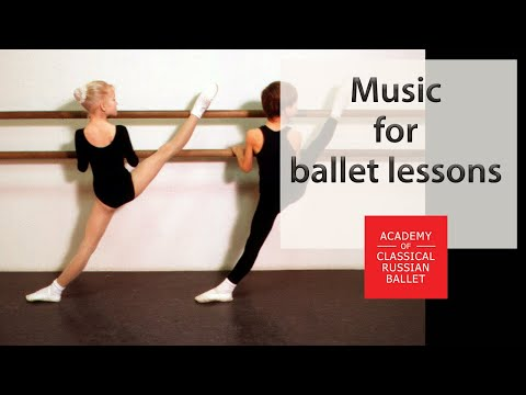 Music for ballet lessons and open classes from famouse Russian pianist Raisa Umanskaya