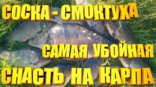 Самая убойная снасть на карпа и амура СОСКА СМОКТУХА Сделай и будешь с рыбой всегда