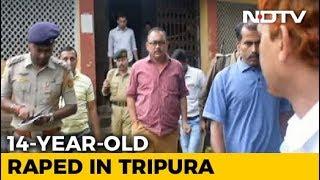 "Video 14-Year-Old Girl Alleges Rape, Threats By ""Powerful"" Businessman In Tripura download MP3, 3GP, MP4, WEBM, AVI, FLV Juni 2018"