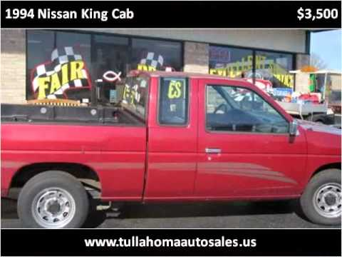 Tullahoma Auto Sales >> 1994 Nissan King Cab Available From Tullahoma Auto Sales Youtube