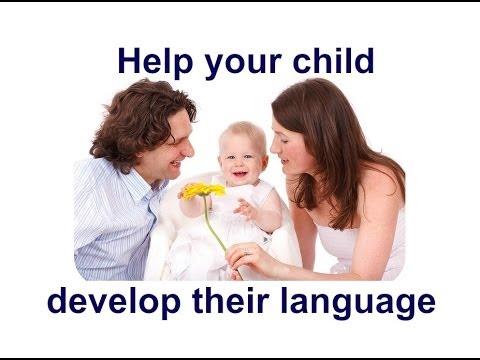 Help your child's language development - YouTube
