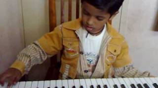 Padmesh playing Ovvoru Pookalume [Tamil Film Autograph]