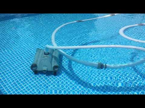 fcd9943d Pulitore piscina Robot Auto Pool Cleaner manutenzione INTEX 28001 - YouTube