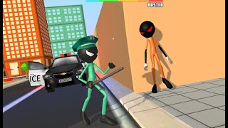 Prisoner Stickman Jail Survival Story: Escape Plan EP-02~Stickman Jailbreak Story~ Android Gameplay.