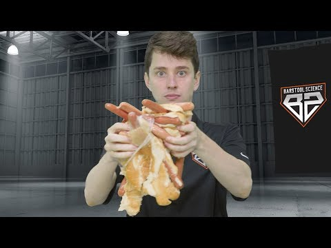 The Science Behind Nathan's Hot Dog Eating Contest – Barstool Sports Science