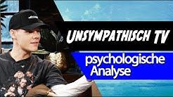 🧢 UnsympathischTV • Psychologische Analyse: Temperament, Erlebnistypus, Realitätsprüfung