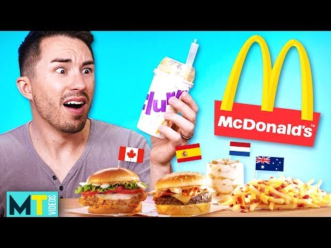 Americans Try McDonald's International Menu: Taste Test