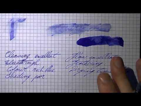 Inkcyclopedia: Montblanc Royal Blue