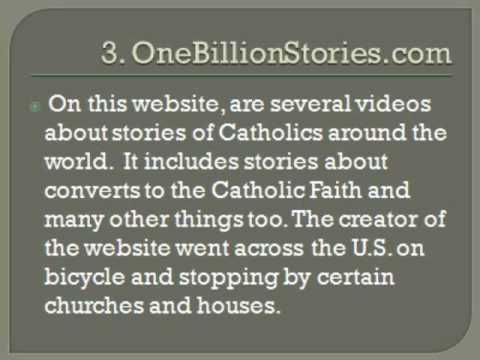 5 Catholic Websites for You to Check Out!
