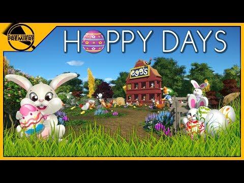 [EASTER] Hoppy Days | Planet Coaster Premiere | 4Kᵁᴴᴰ