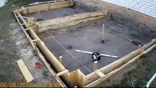 Как построить большой вольер для алабаев. How to build an aviary