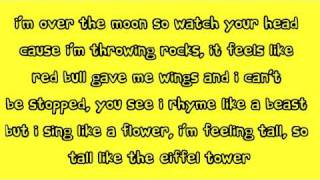 Cher Lloyd - Over The Moon (Lyrics)